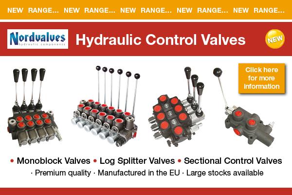 New Range - Nordvalves Hydraulic Control Valves