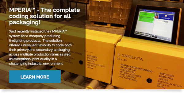 MPERIA™ The Complete Coding Solution For All Packaging