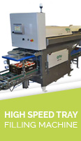 High Speed Tray Filling Machine