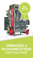 Girbagger: 9 Packaging styles - One Machine!