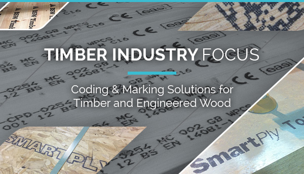 Coding & Marking Solutions for Timber and Engineered Wood