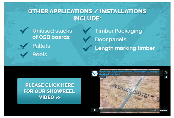 Other applications/installations include